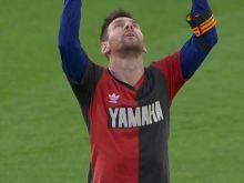 Μαραντόνα: Ο Μέσι του αφιέρωσε το γκολ φορώντας τη φανέλα της Νιούελς