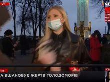 Βίαιη επίθεση εναντίον Ουκρανής ρεπόρτερ «στον αέρα»