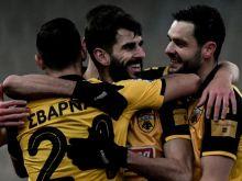ΑΕΚ - Ατρόμητος 2-1: Με Ολιβέιρα και Λιβάγια στην τέταρτη σερί νίκη με Χιμένεθ