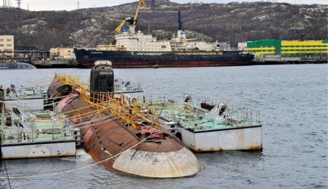 Το «νεκροταφείο» των σοβιετικών πυρηνικών υποβρυχίων και ο κίνδυνος ενός «υποθαλάσσιου Τσέρνομπιλ»