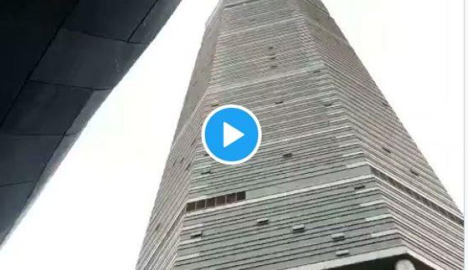 Κίνα: Ουρανοξύστης άρχισε να τρέμει και σκόρπισε τον πανικό