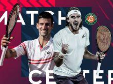 LIVE Roland Garros: Τζόκοβιτς - Τσιτσιπάς