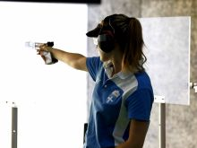 Ολυμπιακούς Αγώνες - Σκοποβολή: Έκτη η Κορακάκη στα 10μ. αεροβόλο πιστόλι