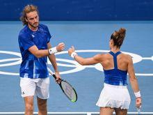 Ολυμπιακοί Αγώνες - Τένις: Εξαιρετική δουλειά από Σάκκαρη και Τσιτσιπάς, πέρασαν το πρώτο εμπόδιο