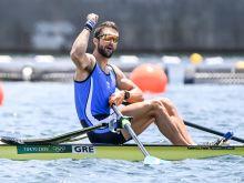 Μυθική εμφάνιση από τον Ντούσκο, άγγιξε το ολυμπιακό ρεκόρ και προκρίθηκε στον τελικό του μονού σκιφ