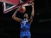 Ολυμπιακοί Αγώνες - Μπάσκετ: Ο Ντουράντ ήταν η φωτιά που έκαψε την Ισπανία, με 95-81 προκρίθηκε στην 4άδα η Team USA