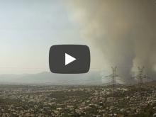 Time lapse video: Πώς άρχισε και πώς εξελίσσεται η πυρκαγιά στη Βαρυμπόμπη