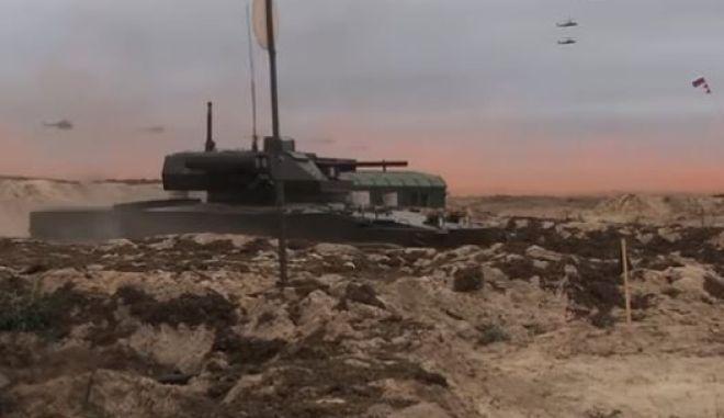 Πολεμικά ρομπότ με πυραύλους και φλογοβόλα δοκιμάζει η Ρωσία