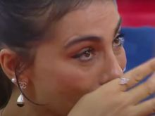 Τα δάκρυα συγκίνησης της Ολυμπίας Χοψονίδου στο αντίο του Βασίλη Σπανούλη