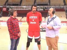 """Ο Γιώργος Πρίντεζης στην Game Night: """"Παίζεις στον Ολυμπιακό, πρέπει να έχεις στόχους"""""""