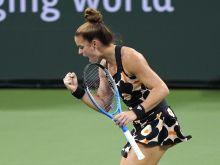"""Σάκκαρη - Καλίνσκαγια: Αποσύρθηκε η Ρωσίδα, πήρε την πρόκριση στις """"8"""" του Kremlin Cup και έκλεισε θέση για το WTA Finals η Ελληνίδα πρωταθλήτρια"""